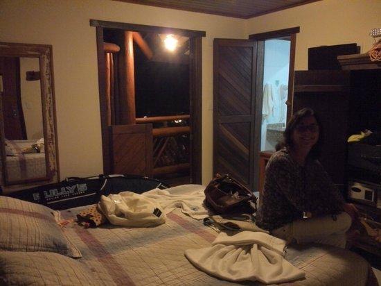 Pousada Casa De Praia: Room