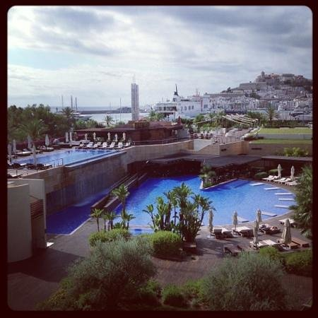 Ibiza Gran Hotel: view from our room - 329