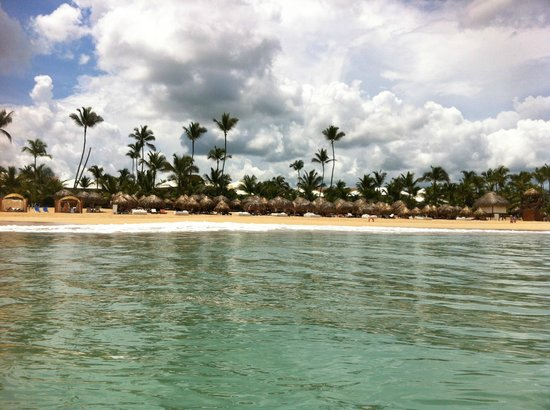 Excellence Punta Cana: back in the water, wont be long before Juan is back  lol
