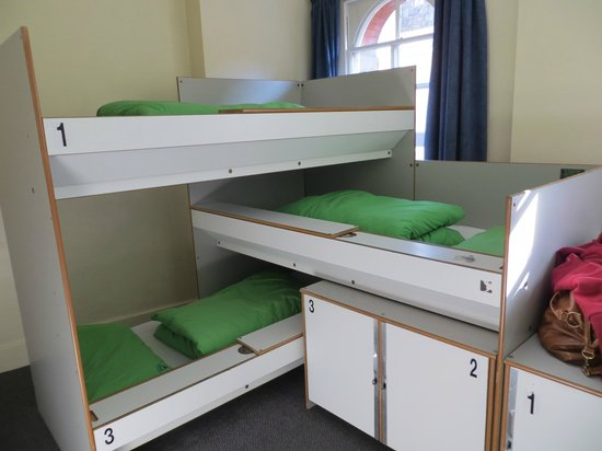 YHA London St Pauls: view of the beds