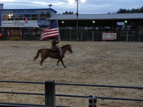 The Kissimmee Sports Arena Rodeo: Star Spangled Banner
