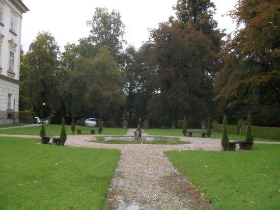 Hotel Schloss Leopoldskron: jardim