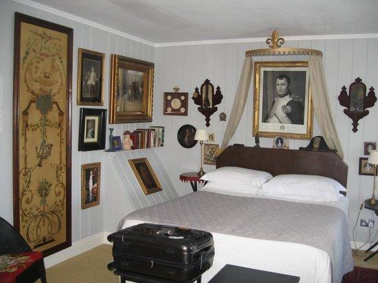 The Quay House: La chambre Napoléeon