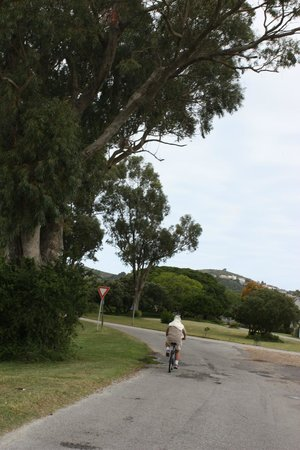 Leisure Isle Lodge: quiet roads to cycle