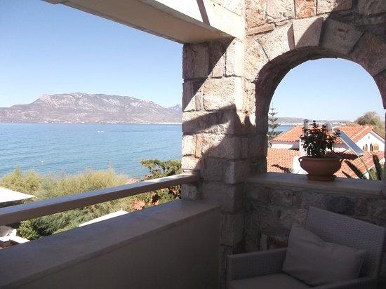 ENALIO Suites: Bedroom balcony view