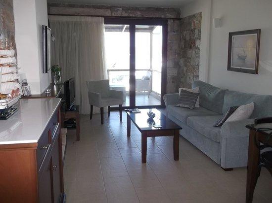 ENALIO Suites: Living area, suite 3