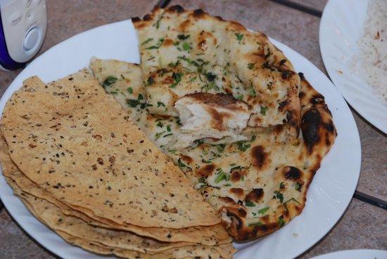 Taste of Punjab: Pommy's & nan bread