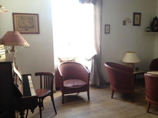 Hotel du Parc : La salle de détente