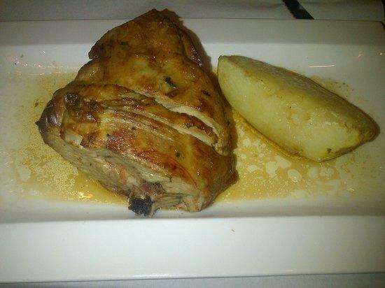 Palomeque: agnello con patate (1/2 porzione)