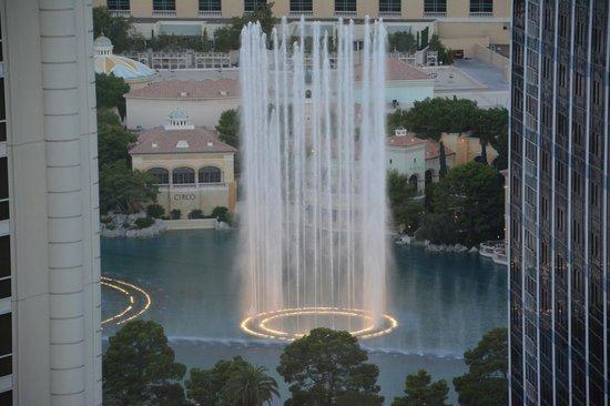 ปารีสลาสเวกัสโฮเต็ล: The fountains at the Bellagio