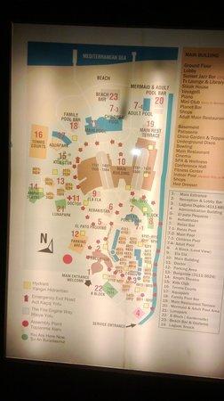 Voyage Belek Golf & Spa: plan