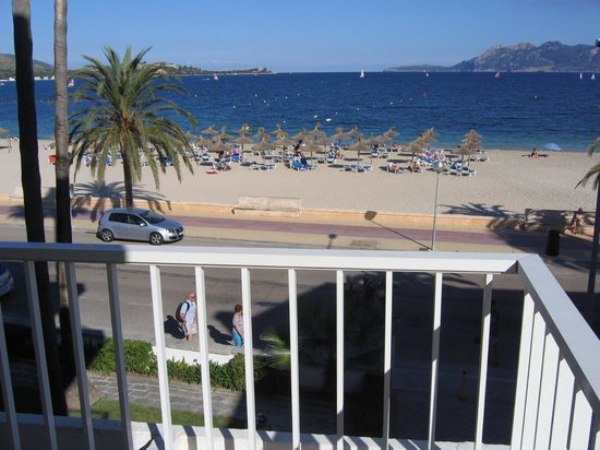 Hoposa Pollentia Hotel: view from the balcony