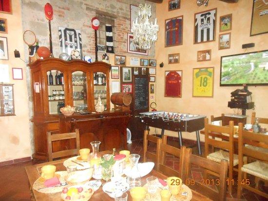 B&B San Gennaro Castello: dining room