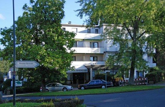 Hotel Rheinland: Rheinland Außenansicht