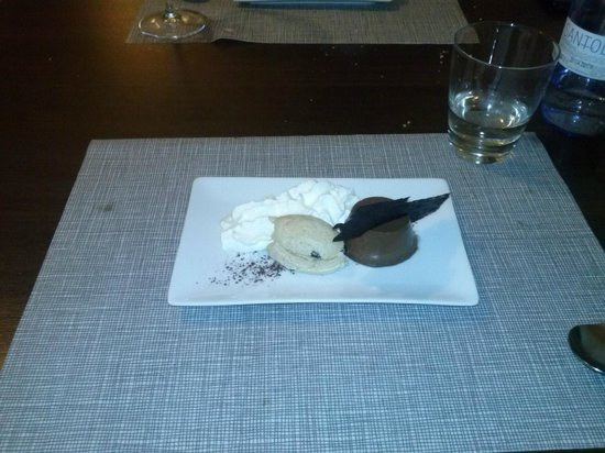 Beeca Da2: Cremoso de chocolate con cafe y mousse de mascarpone