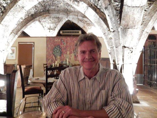 Abbaye de Maizières : Dinner at the Abbey