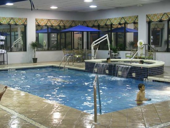 Hampton Inn Buffalo-Airport/Galleria Mall: The pool