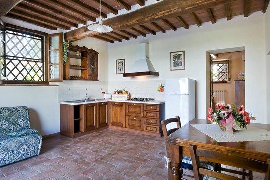 Agriturismo I Pianelli: Kitchen