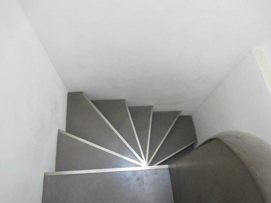 Domaine de Rhodes: Spiral stairs