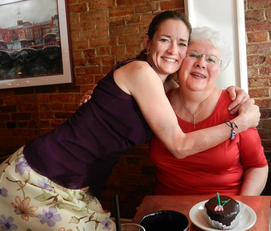 Michelle's On Market Square: Hugs from Michelle & a cake on my Birthday.