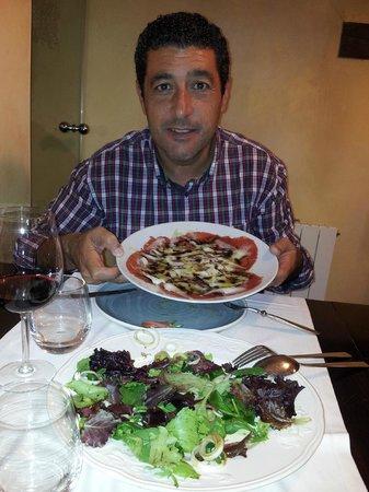 Hotel Dona Anita: La cocina muy buena, una agradable sorpresa.