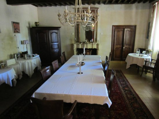 Domaine de Rhodes : Breakfast room