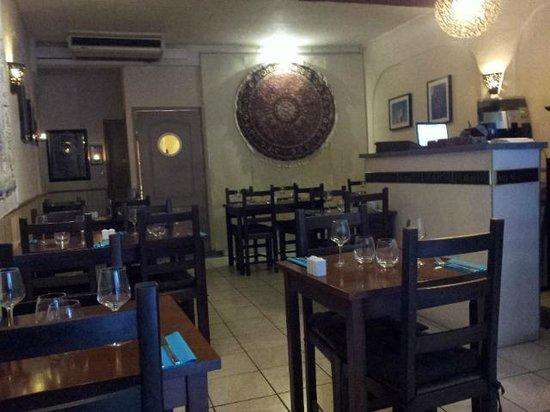Shalizar : salle du restaurant