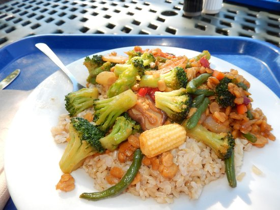 Celestial Cafe: A Delicious Vegan Tempeh Meal