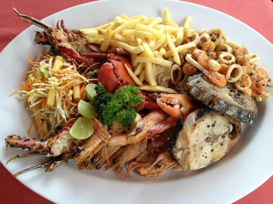 Serena Villa Restaurant: sea food