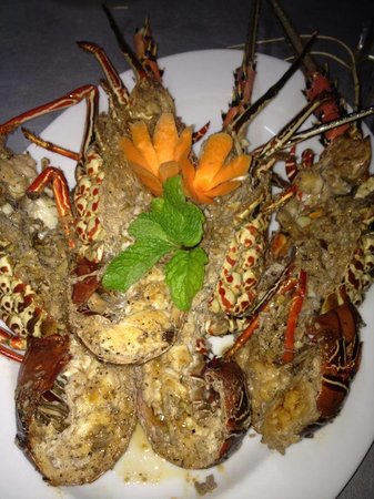 Serena Villa Restaurant: lobster