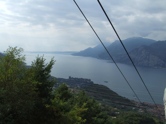 Lake Garda from Monte Baldo Cable car