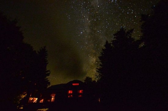 Milky Way over Johns Brook Lodge