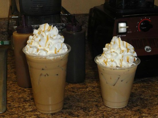 The Nutty Java: Iced Coffee's