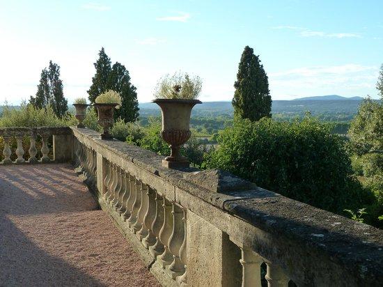 Le Château de Saint-Siffret : Chateau de Saint- Siffret  - Terrace with views