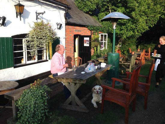 The Crooked Billet: Lovely garden