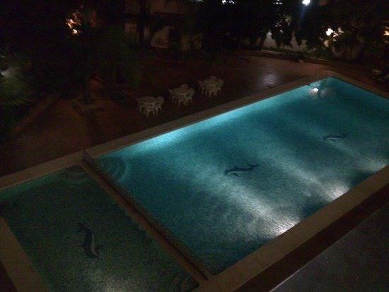 Hotel Perla: pool from my balcony