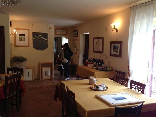 L'Atelier di Pierflavio Gallina : La sala colazioni