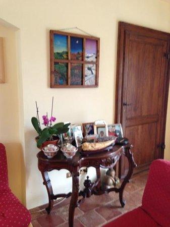L'Atelier di Pierflavio Gallina : Un angolo del soggiorno