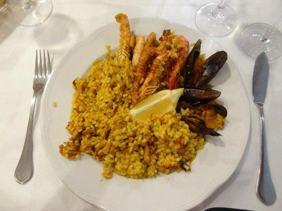 La Llotja de Blanes: Паэлья из меню