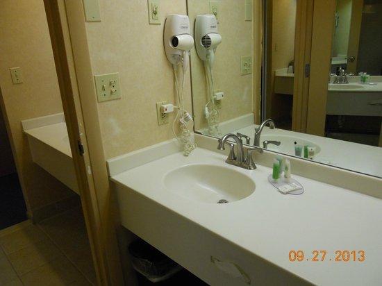 Indian Head Resort: Very clean bathroom