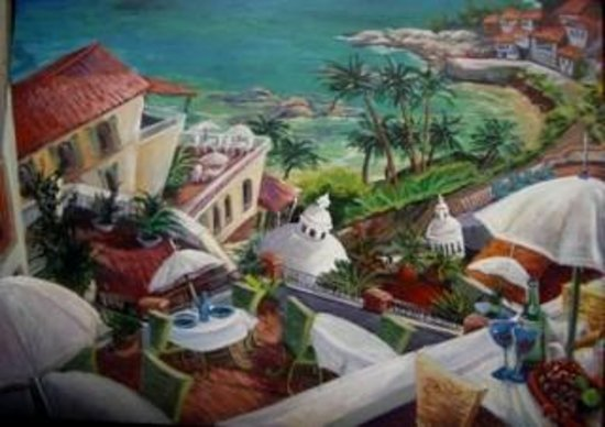 Kathleen Carrillo Galleries: View from El Set, Architectural Whimsy Series