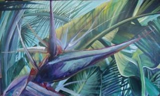 Kathleen Carrillo Galleries: White Bird, Tropical Delight Series