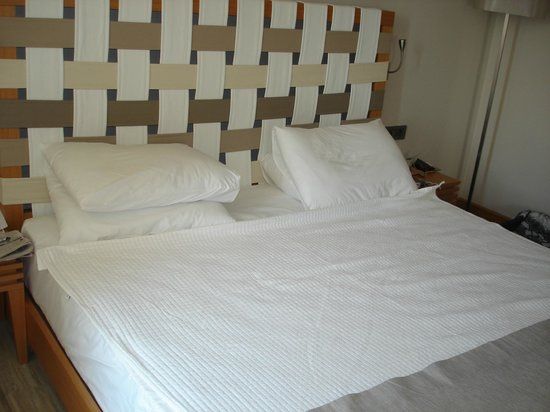 Jiva Beach Resort : Lovely large bed