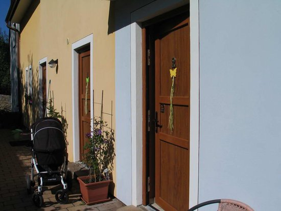 Penzion Delanta: room entrance