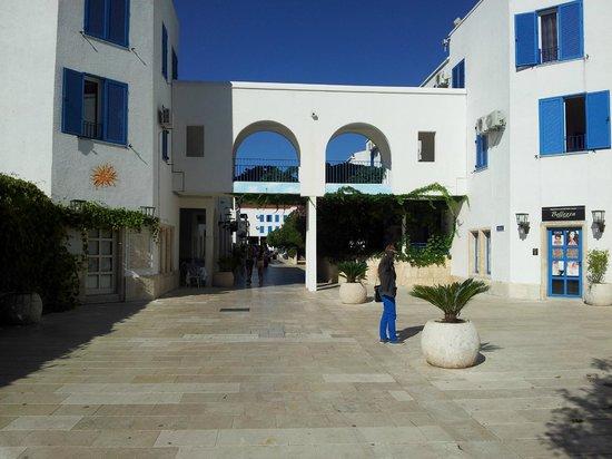 Hotel Slovenska Plaza: Hotelgelände