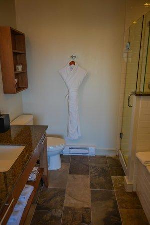 Bathroom at The Oswego Hotel