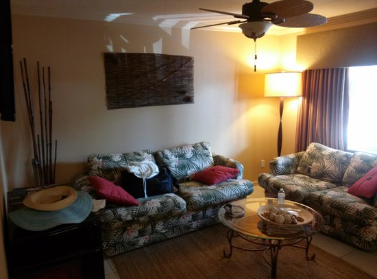 Hibiscus Suites - Sarasota / Siesta Key: Living Room