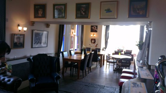 The Preston Hotel: The music themed bar