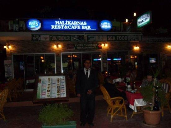 Halikarnas Restaurant: The lovely sinbad!