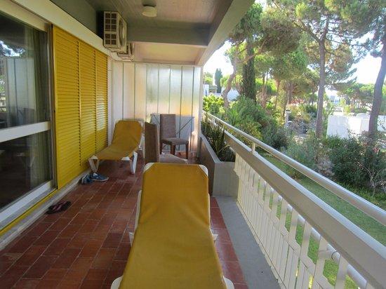 Pinhal da Marina : part of the large balcony